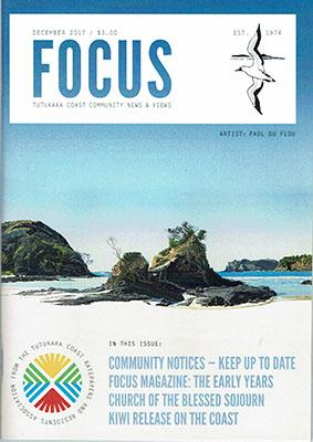 Focus magazine cover Dec 2017